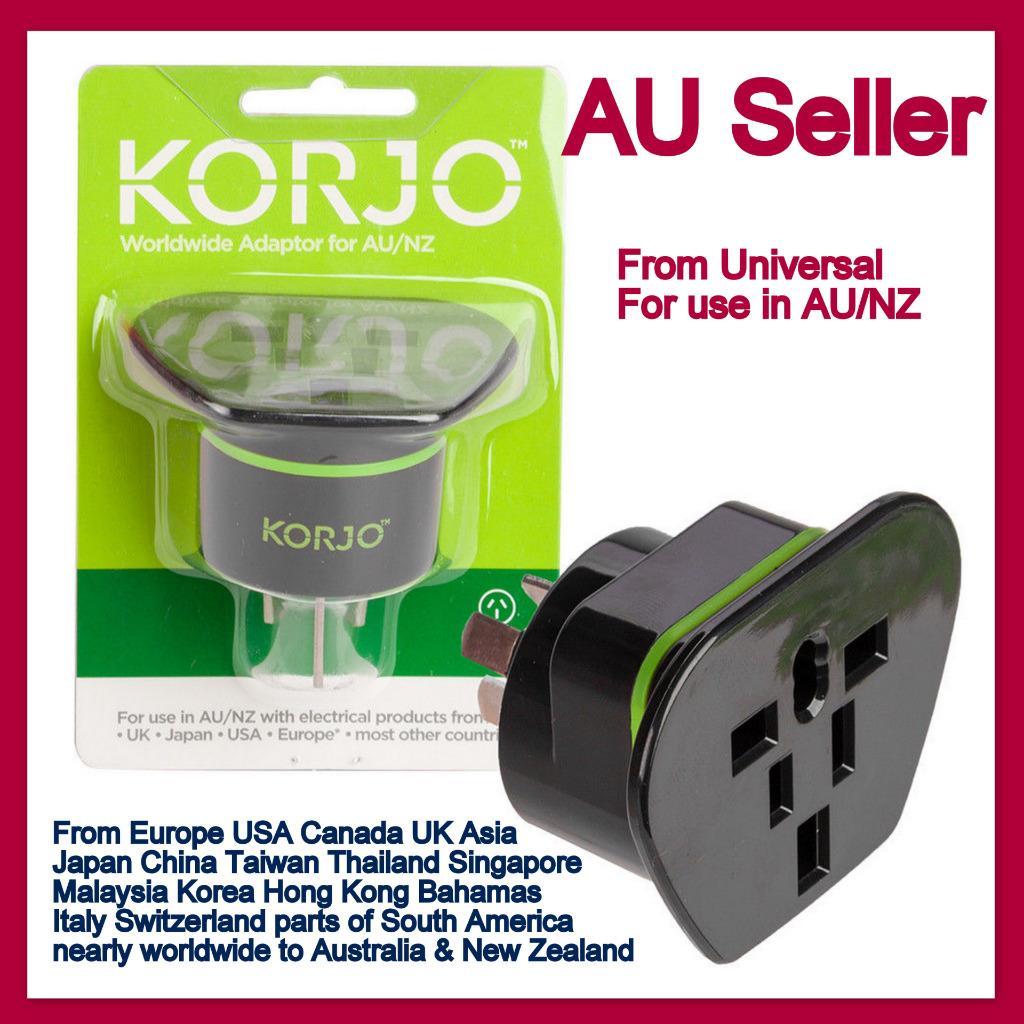 Jp Asia Universal To Au Australia Plug