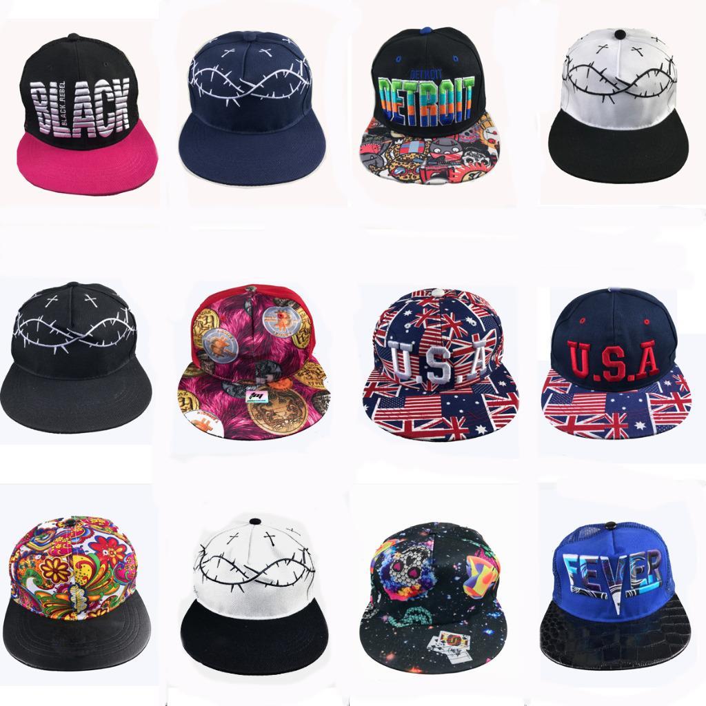Details about Job Lot 50PCS Hip Hop Caps Hats Flat Peak Funky Retro Baseball  Trade Pound Lines 5b0e6c885a7