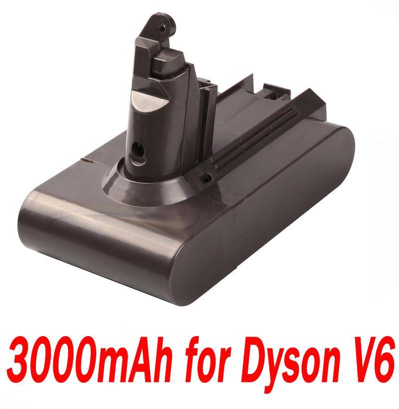 21 6v 3000mah battery for dyson absolute v6 dc58 dc59 dc61 dc62 d72 dc74 bc683 ebay. Black Bedroom Furniture Sets. Home Design Ideas
