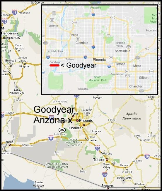 Goodyear Arizona Very Rare Good For 5 In Trade Only Token Issuer