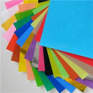 180 Sheets JAPANESE Square ORIGAMI CHIYOGAMI CRAFT Folding PAPER 24 colour 15 cm
