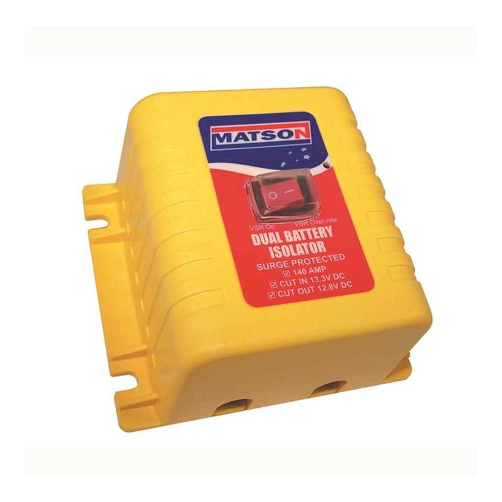 matson battery isolator 12v 140 amp with override switch dualdetails about matson battery isolator 12v 140 amp with override switch dual battery vsr