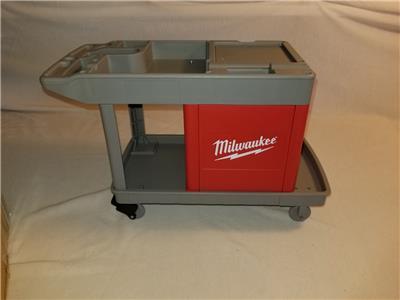 milwaukee tools mini trade titan work cart toy new old stock  