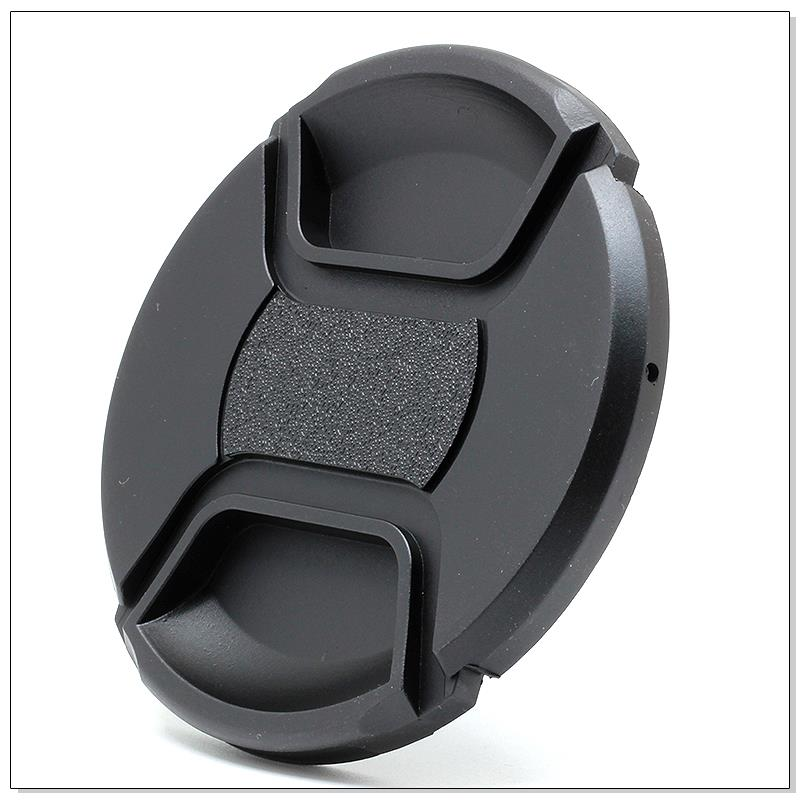 58mm Center Pinch Snap on Front Cap For Sony Canon Nikon Lens Filters**