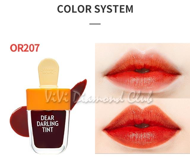 ***This auction is for ONE (1) Etude House Dear Darling Water Gel Tint 4.5g Ice Cream Summer Limited Edition***