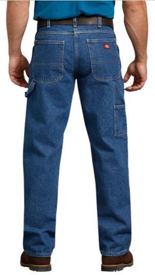 56c532759 DICKIES Relaxed Fit-Straight Leg Carpenter Jean 1993(Stonewashed Indigo Blue )