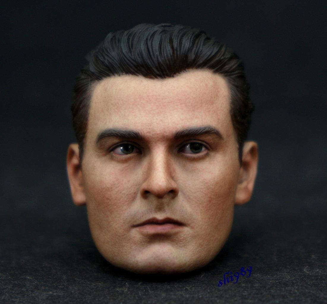"Kumik 1//6 KM16-44 Man Head Sculpt Fit 12/"" Hot Toys DAM Phicen Figure Body"