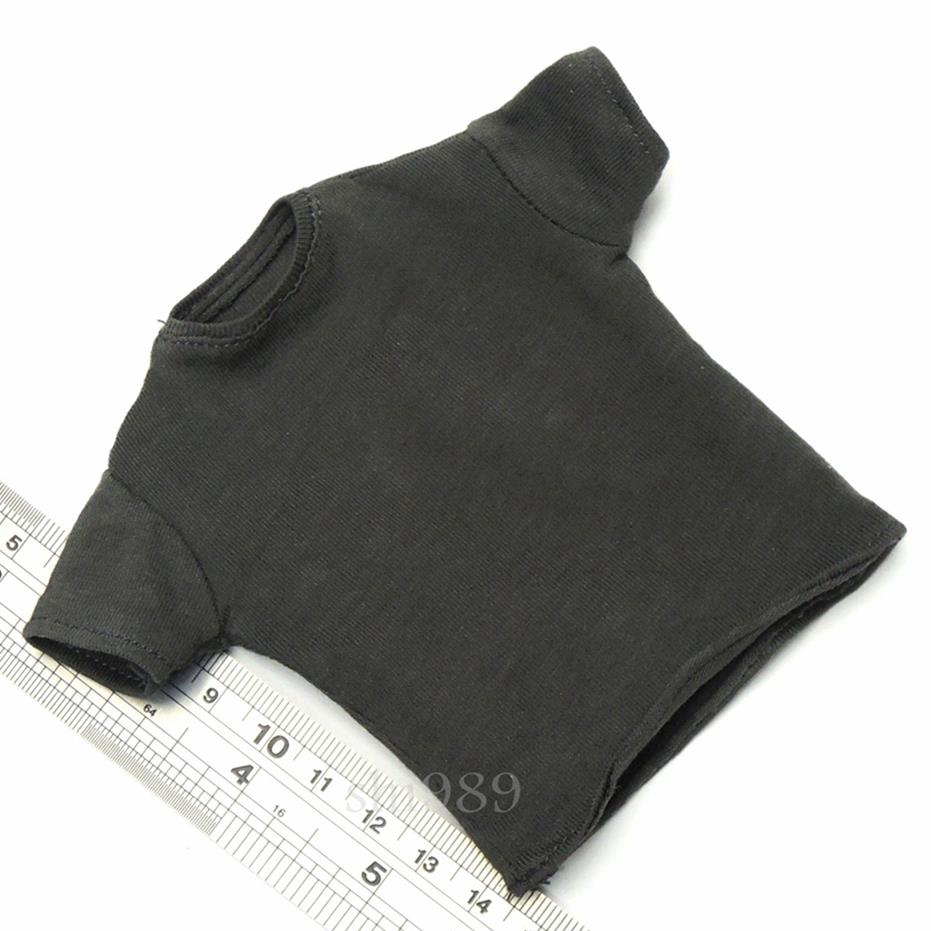 US Vendeur * 1//6 Hot Toys Terminator Genisys T-800 Gris T-shirt MMS307
