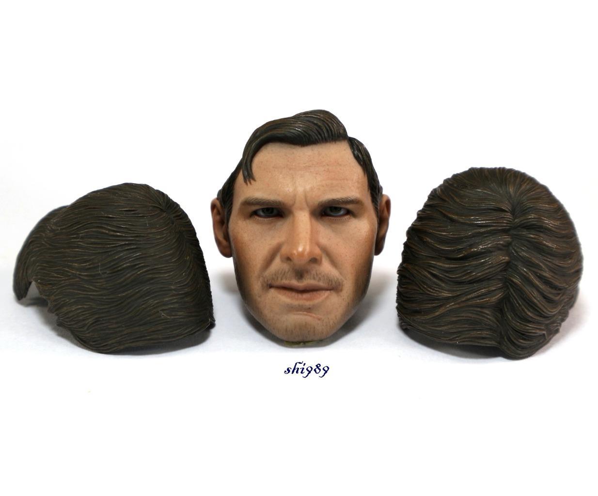 Hot Toys DX05 Indiana Jones Raiders Lost Ark 1//6  Head Sculpt