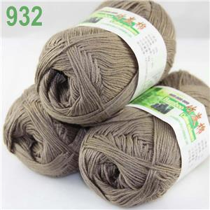 Sale Lot 3skeinsx50g Soft Bamboo Cotton Baby Wrap Hand Knitting Crochet Yarn 932