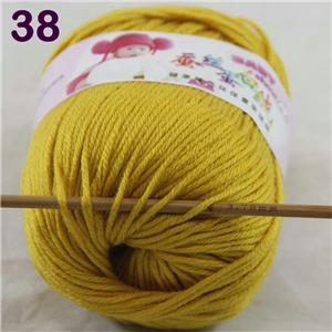 8Ball x50g  Multi-Color Cashmere Silk Wool Hand knitwear knitting Baby Yarn 42
