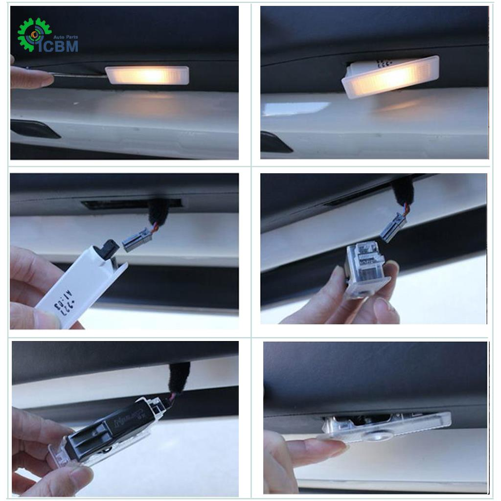 No Drill LED Door Ghost Courtesy Projector Logo Light For