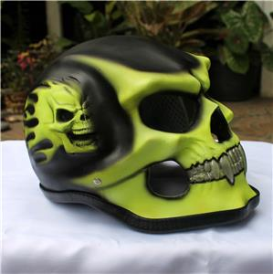 Christmas Gift Sale Motorcycle Helmet Skull Skeleton Full Face For Youth