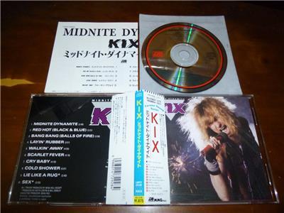 Kix / Midnite Dynamite JAPAN 18P2-2928