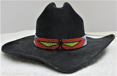 New Never Used /</> Western Hat Band /</> Cavalry Style /</> Adjustable with Tassels