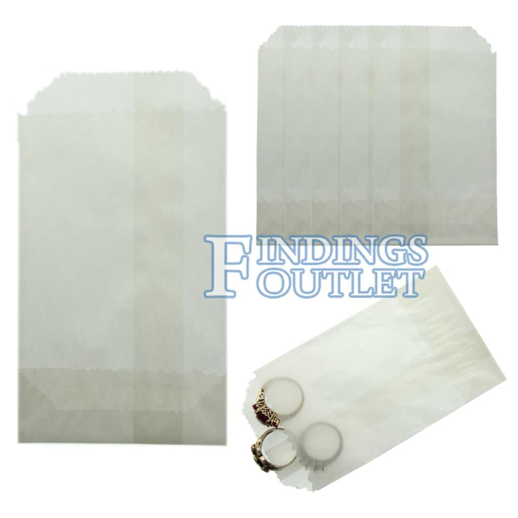 Glassine Wax Paper Bags 2 75 X 4 25 Coin Jewelry Small Parts Pack Of 1000