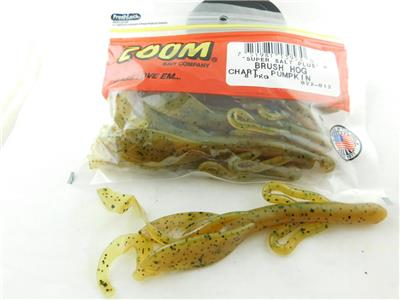 "Zoom Super Salt Plus 6/"" Lizard Green Pumpkin Magic  9 Pack"