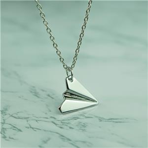 Paper Plane Toward Necklace One Direction Pendant Harry Style Friendship Jewelry