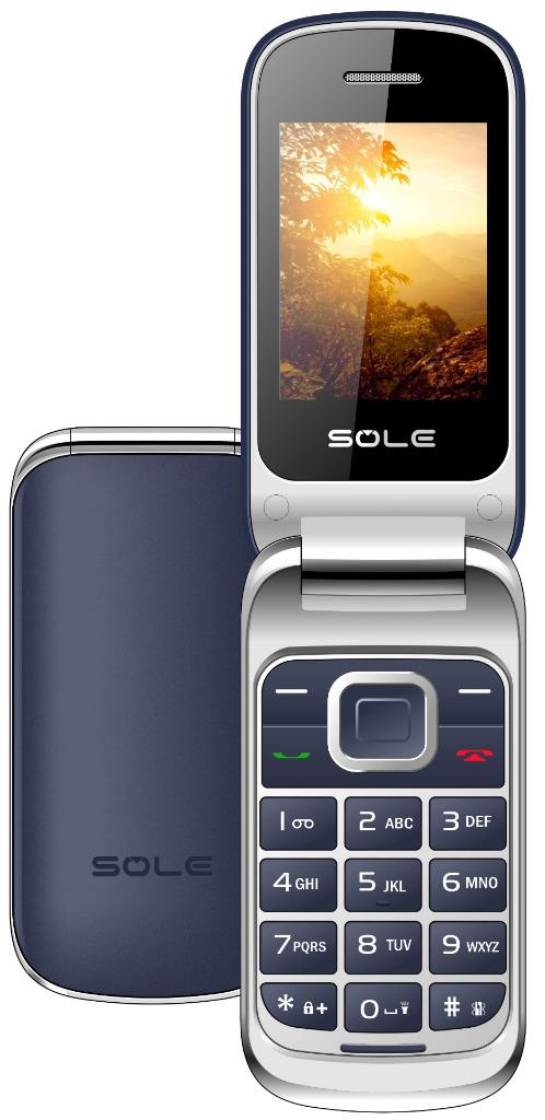 EKO-SOLE-F450-2G-Flip-Cell-Phone-Unlocked-GSM-Dual-SIM-1-3MP-Camera-2-4-034-Screen