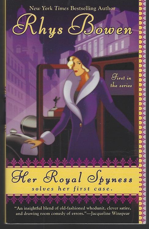 HER ROYAL SPYNESS, Bowen, Rhys