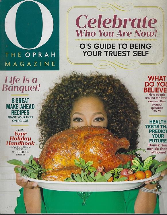 O THE OPRAH MAGAZINE NOVEMBER 2015, Oprah