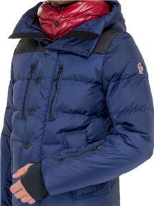 97bff3553 Details about Moncler Grenoble Rodenberg Hooded Down Filled Jacket Coat  Size 3 Medium £1115