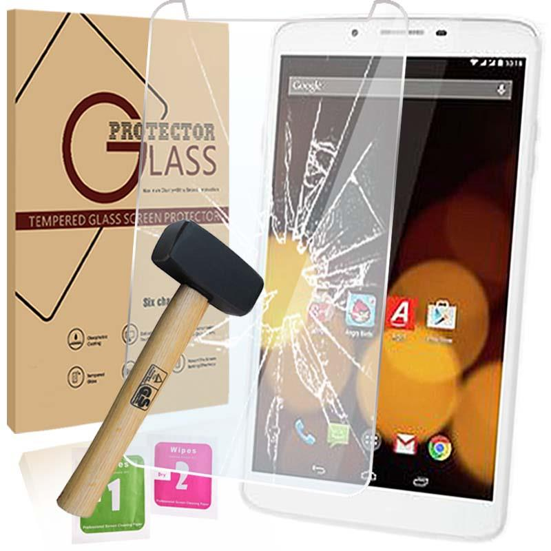 Tablet Tempered Glass Screen Protector Cover For Argos Bush Spira B3 8 inch