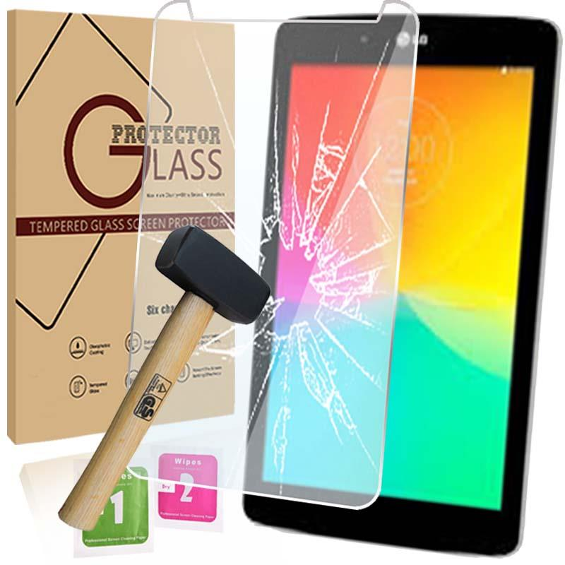 Tablet Tempered Glass Screen Protector Cover For LG G Pad 7.0 V400 V410