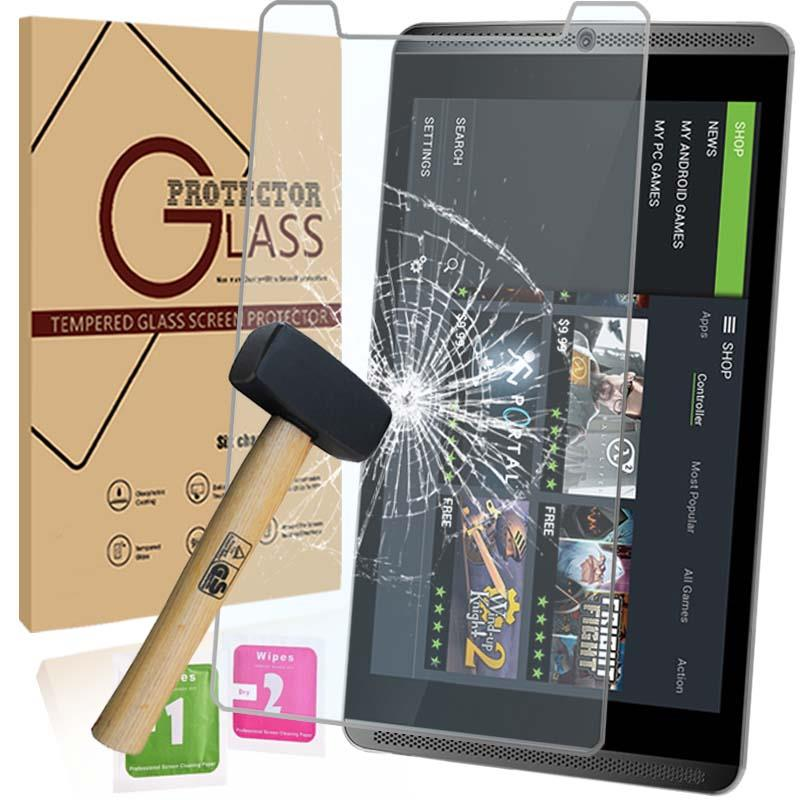Tablet Tempered Glass Screen Protector Cover For Nvidia Shield 8.0/""