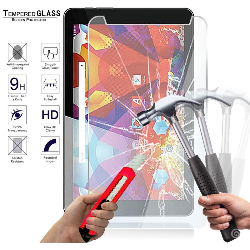 "3 Pack Clear Tablet Screen Protector Guard For 8/"" Alba 8 Inch"