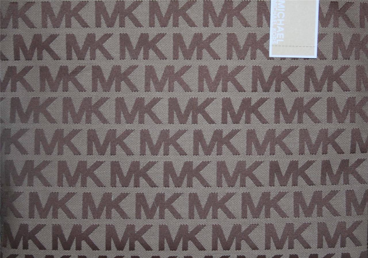 Michael Kors Logo Jacquard Tote | Car Interior Design