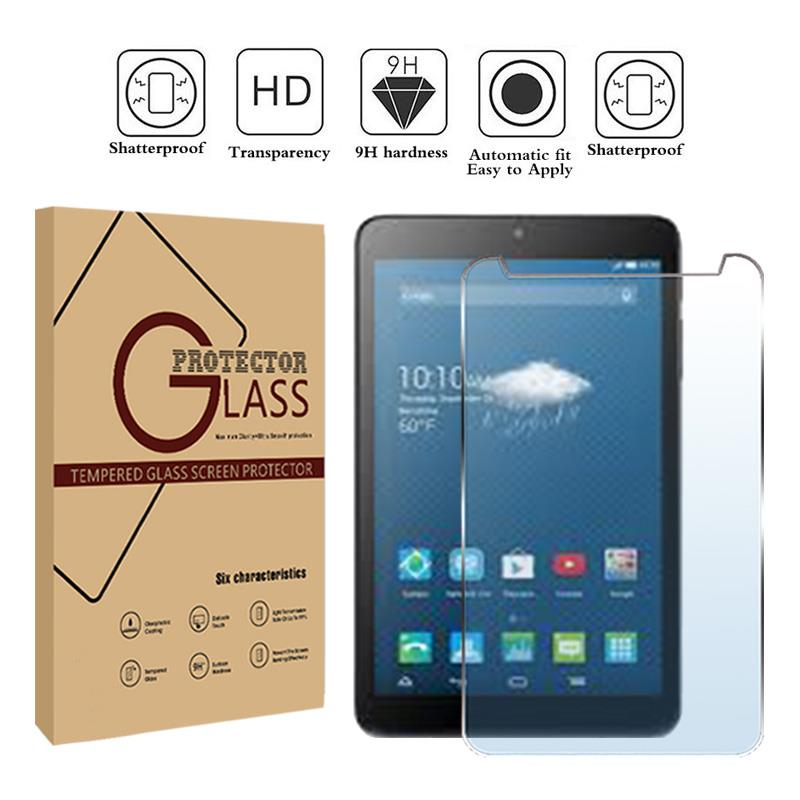 """2 Pack Clear Tablet Screen Protector Guard For 8/"""" Alcatel Onetouch Pixi 3"""
