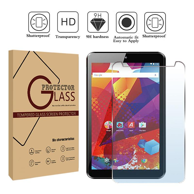 Tablet Tempered Glass Screen Protector Cover For Argos Alba 7 Inch Android