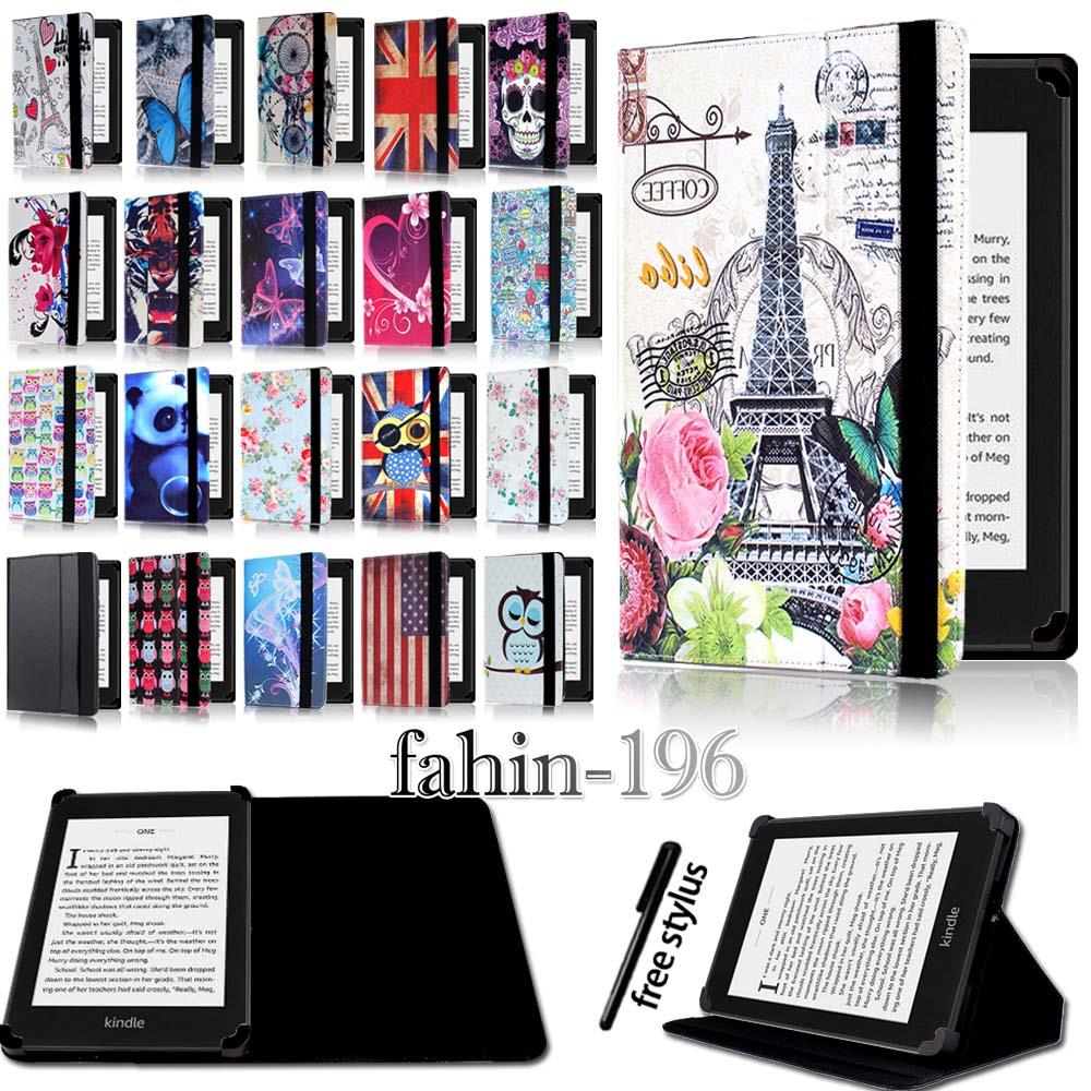Magnificent Details About For Amazon Kindle 4 5 7 8 9 Paperwhite 1 2 3 4 Folio Stand Leather Cover Case Interior Design Ideas Gentotryabchikinfo