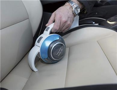 Black and Decker Orb-it Cordless Vacuum Cleaner 7.2 Volt Electric Blue Metallic