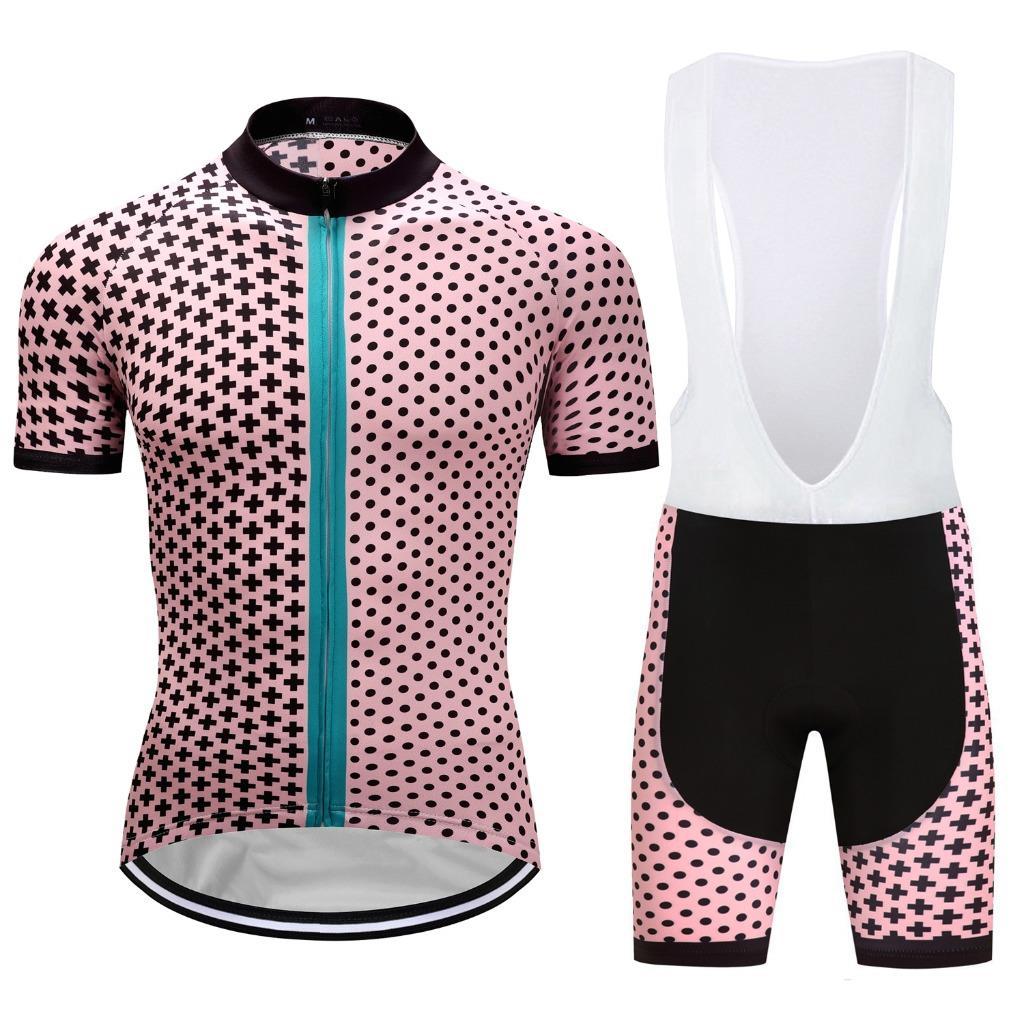 Mens Cycling Jerseys Bib Shorts Kits Bike Riding Shirt Clothing Pants Padded Set