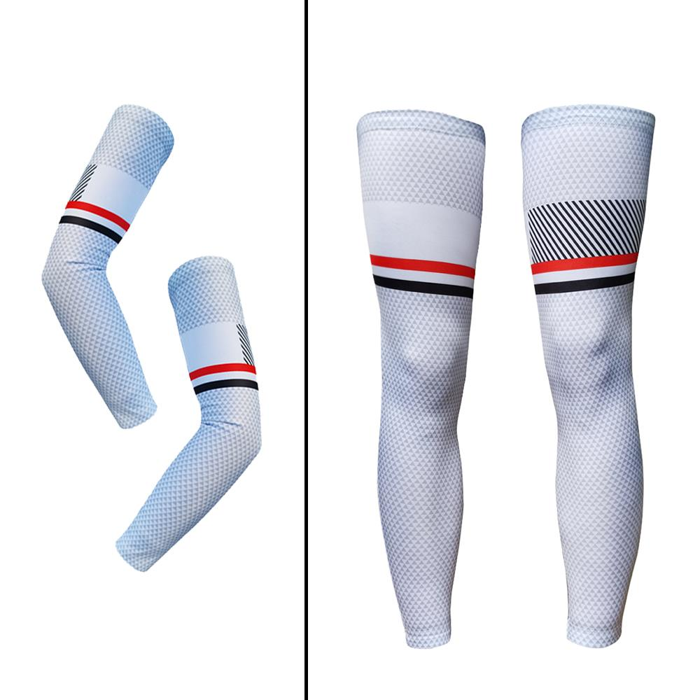 1PCS  Men Bike Cycling Sunscreen Bicycle UV Protection Leg Knee Outdoor Cover US