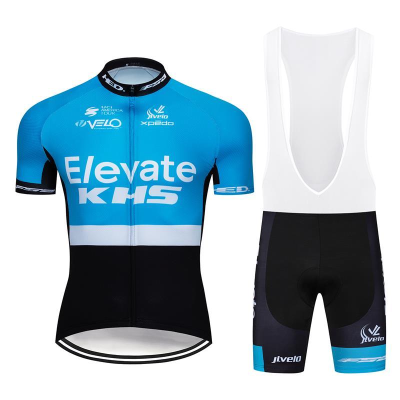 Mens Summer Bike Cycling Jersey Shorts Kits Riding Race Uniform Shirt Pants Set