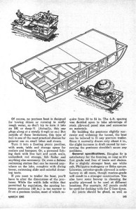 EZ 7 Deck/Pontoon/ Houseboat/ platform boat plans 18S on