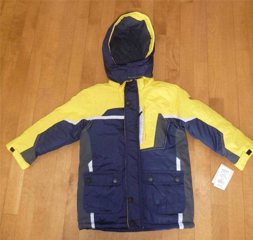 NWT Boys OSHKOSH Jacket Winter Coat Size 4 4T Blue or