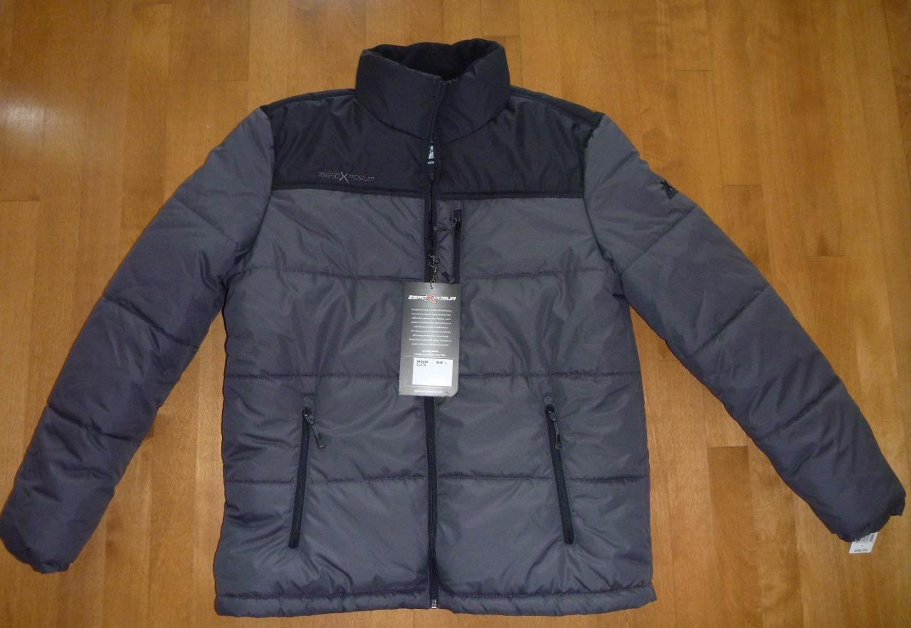 Men Zeroxposur Quilted Puffer Jacket Winter Coat Size L Xl