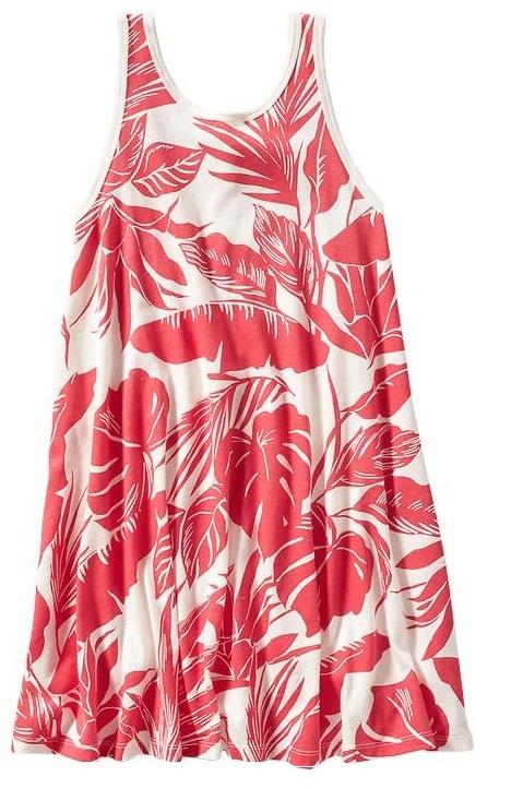 Girls OLD NAVY Tropical Swing Summer Dress Size 6/7 8 10 ...