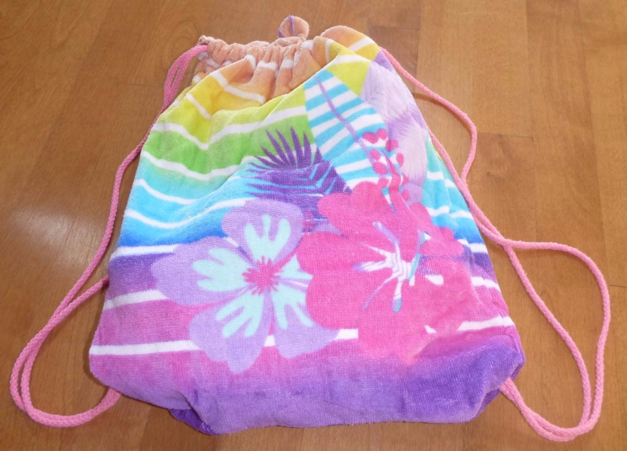 Girls Summer 2 In 1 Sling Bag Amp Beach Towel Combination