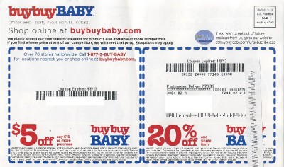Buybuy Baby Printable Coupons December 2014