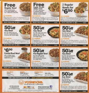 image regarding Yoshinoya Coupons Printable identify Yoshinoya coupon 2018 / Staples discount coupons for printing