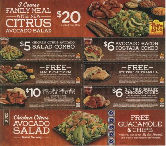 picture regarding Yoshinoya Coupons Printable referred to as Pollo loco discount coupons april 2018 / Past instant lodge promotions