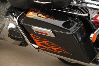 Flame Graphics Fit Harley Electra Glide Street Glide