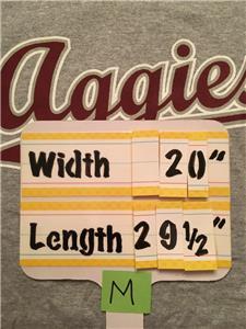 Texas A /& M A/&M Aggies Gray Long Sleeve Shirt Mens Size XXL 2XL NWT   #98