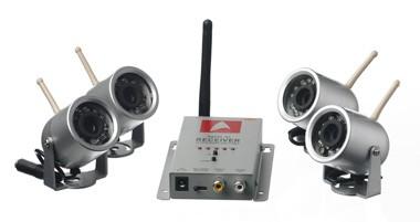 4 night vision cameras