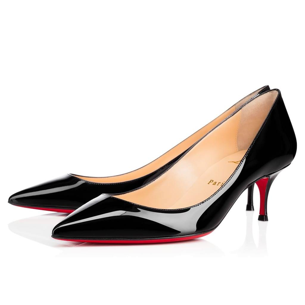 super specials low price promo code Christian Louboutin PIGALLE FOLLIES 55 Patent Kitten Heel Pumps ...